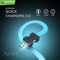 Hippo Xyron 2 Micro USB Kabel Data & Charger – 100cm