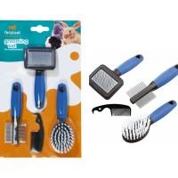 ferplast grooming kit untuk rodents pack 4 unit
