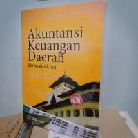 Buku - AKUNTANSI KEUNGAN DAERAH - Berbasis Akrual - Prof Erlina