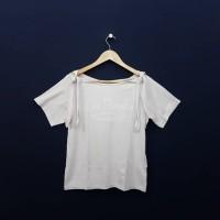 KM519 Size S-L Atasan Blus Pastel Lavender Branded Wanita