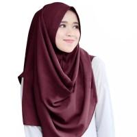 Jilbab / Hijab / Pashmina Instan Warna Pastel Ria Ricis model terbaru