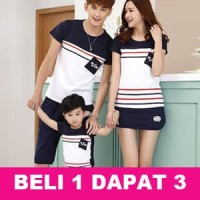 NSUN Couple Family cp fm Baju Kaos Keluarga