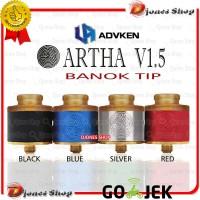 [banok] Atomizer RDA ARTHA V1.5 BANOK TIP 24MM - RDA ARTA ARTHA V.1.5