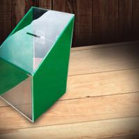 Kotak amal / kotak saran / kotak saran akrilik / kotak amal akrilik