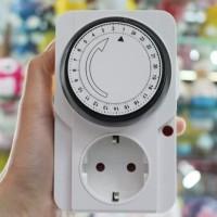 Alat Listrik Stop Kontak Timer 24Hour Perangkat Elektronik - HAP045