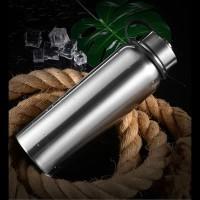 Botol Air Minum Termos 1 Liter Warna Silver