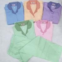Baju Seragam Suster/Baby Sitter/Nanny - Baju Pendek Celana Panjang