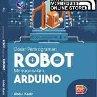 Buku Baru - Dasar Pemrograman Robot Menggunakan Arduino Bonus CD
