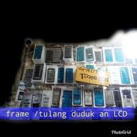 FRAME TULANG ATAS TS LCD BENQ B502 HITAM ORI *
