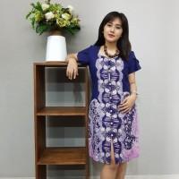Dress Batik Katun Cirebon Brand Batik Muda Uk L - Kode BAAD12113