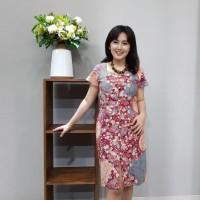 Dress Batik Katun Cirebon Brand Batik Muda Uk M - BAAD12112