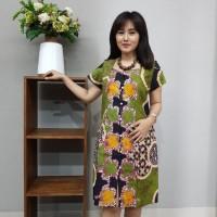 Dress Batik Katun Cirebon Brand Batik Muda Uk XL - BAAD12114