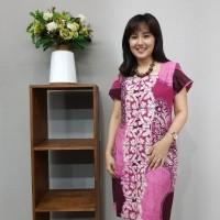 Dress Batik Katun Cirebon - Brand Batik Muda (Kode Produk BAAD1211)