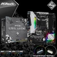 Asrock B450M Steel Legend (AM4, B450, DDR4) Motherboard AMD