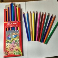 Murah Pensil Warna/ Pencil Colour Nk1270 Set 12 Panjang