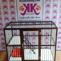 Kandang Kucing Alumunium Tipe KKC-03 (100X60X75CM)