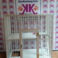 Kandang Kucing Alumunium Tipe KKC-06 (90X60X90cm)