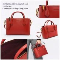 Harga charles and keith argent hand bag tas ck | antitipu.com