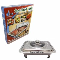 Tempat Makan Prasmanan / Fast Food Dish 555SA