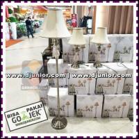 EGLARE - COMBO LAMP SET / PINNO SET LAMPU HIAS ANTIQBRASS SHABBY
