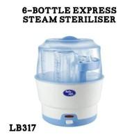 BABY SAFE 6 BOTTLE EXPRESS STEAM STERILIZER LB317