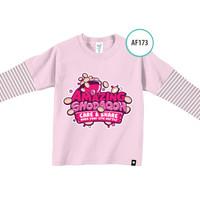 Kaos Anak AF173 Amazing Shodaqoh by Afra Kids Size S