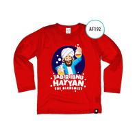 Kaos Anak AF192 Jabir Ibnu Hayyan by Afra Kids Size M