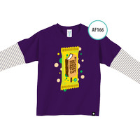 Kaos Anak AF166 Don't Forget Do'a Before You Eat by Afra Kids Size M