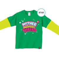 Kaos Anak AF169 Mother is Greatest Teacher by Afra Kids Size L