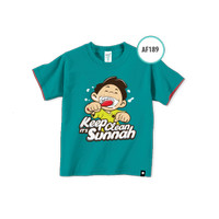 Kaos Anak AF189 Keep Clean It's Sunnah by Afra Kids Size L