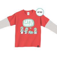 Kaos Anak AF182 Let's Shalat by Afra Kids Size M