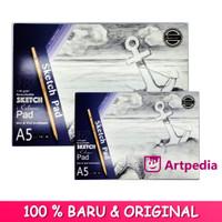 Superior Sketch Pad A5 - 40 Lembar (110gsm)/ Sketch Pad/ Buku Gambar