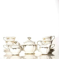 Tea Set Keramik Capodimonte 17 pcs