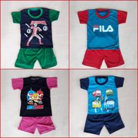 Baju Setelan anak size M / grosir pakaian anak / stelan 2-3 tahun