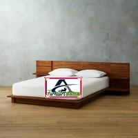 tempat tidur minimalis dipan bed elegan duco laci kelas export new JOL