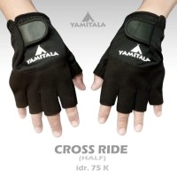 Kaos Tangan Motor Setengah Jari Yamitala Cross Ride
