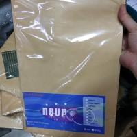 Amplop coklat folio F4 dengan seal lem