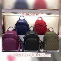 CB2030 Tas Wanita Import backpack Chibao Bordir multifungsi