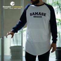 SAMASE SWEATER CREWNECK 11A06341 WHITE