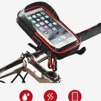 Smartphone Holder Sepeda Waterproof 6 Inch