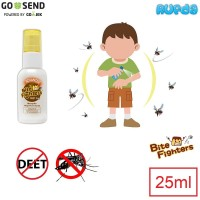 Bite Fighters 25ml Mosquito Repellent Spray Advanced Bebas DEET