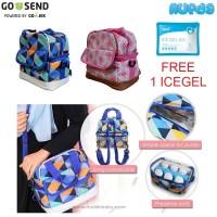 Malish Premium Cooler Bag Tas Pendingin ASI Perah Ransel dan Sling