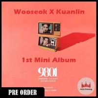 WOOSEOK X KUANLIN 9801 1st Mini Album