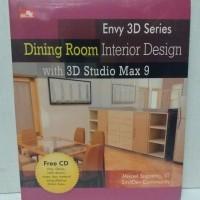 Buku DINING ROOM INTERIOR DESIGN karya MIKAEL SUGIANTO ST. original.