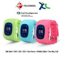Jam Tangan Anak GPS Tracker   Kids Smartwatch Q50