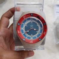 jam tangan swatch scuba original asli merah bergaransi