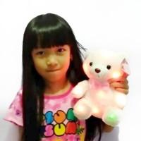 Boneka Beruang Teddy Bear Nyala Lampu LED Bilang I Love You