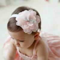 Hiasan Kepala Headband Pita Bando Bandana Bayi Anak Perempuan Bunga