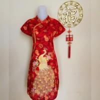 Jual Dress / Baju Cheongsam Murah (Katun)