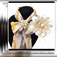 Bros Cincin Ring Scarf/Syal/Kerudung /Aksesoris Jilbab Import